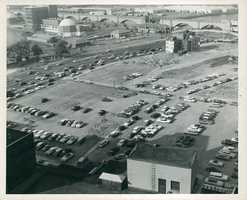 From roof of Massachusetts General Hospital in 1959