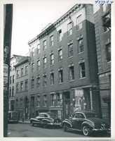 Unidentified West End street circa 1958