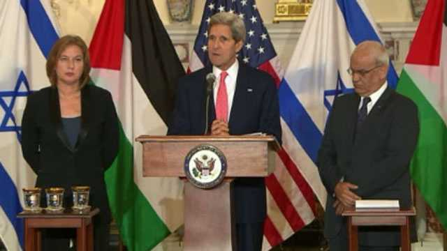 Kerry, Mideast peace talks