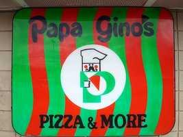 45) Papa Gino's