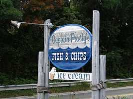 21) Captain Frosty's, Dennis, Mass.