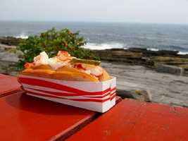 33) The Lobster Shack, Cape Elizabeth, Maine