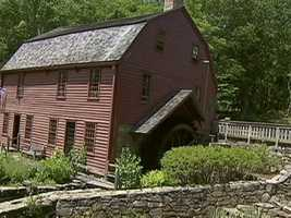 The is the first snuff mill in the American colonies.