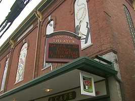 The Lincoln Theater is inside the 138-year-old former town hall.