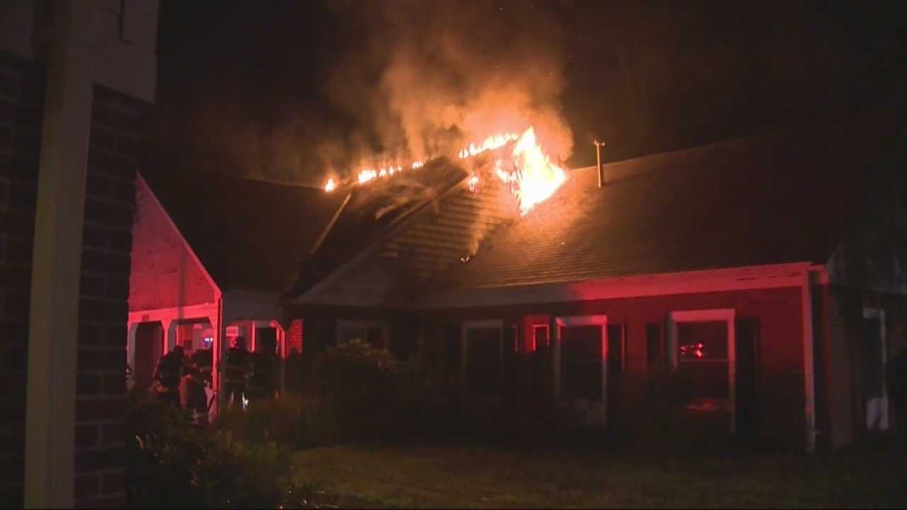 Fire burns at assisted living facility