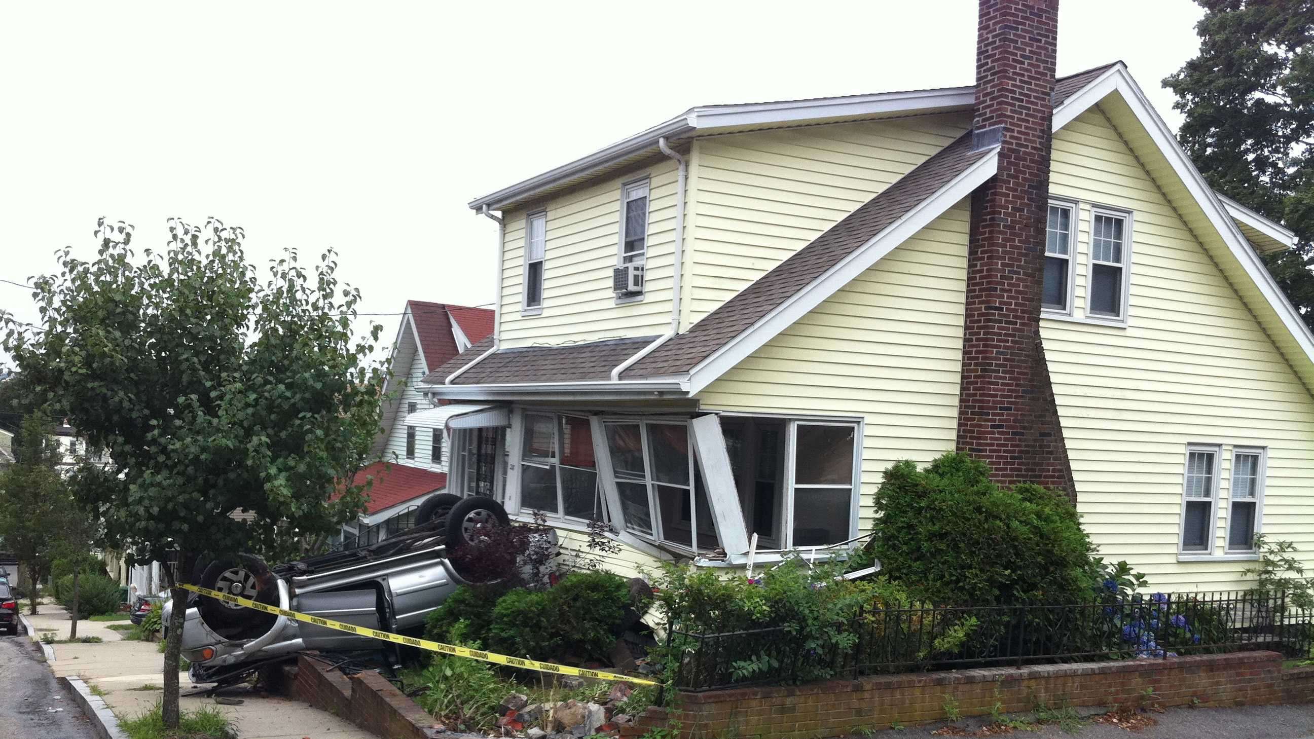 Car into house Medford