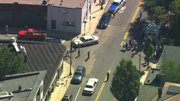 Two plain clothes officers were shot near 1500 Dorchester Ave. in the city of Boston.