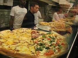 10) Antonio's Pizza, Amherst, Mass.