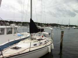 Oak Bluffs Harbor on Martha's Vineyard