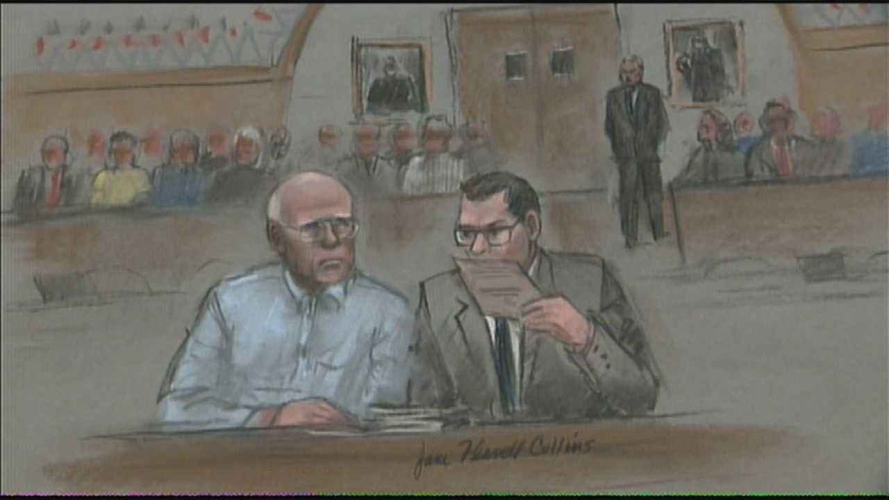 Bulger with attorney