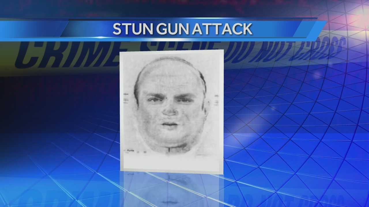 Man sought in stun gun attack