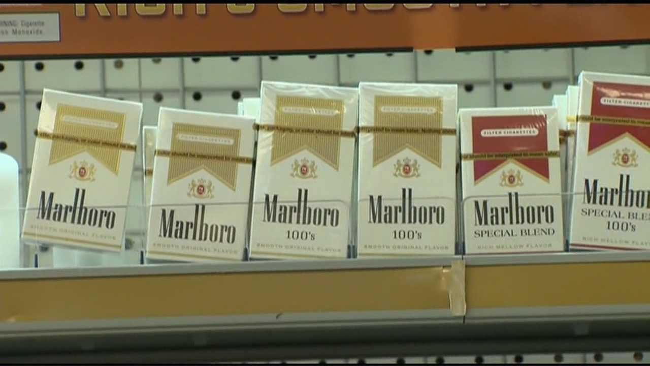 Legal age to buy cigarettes raised in local town