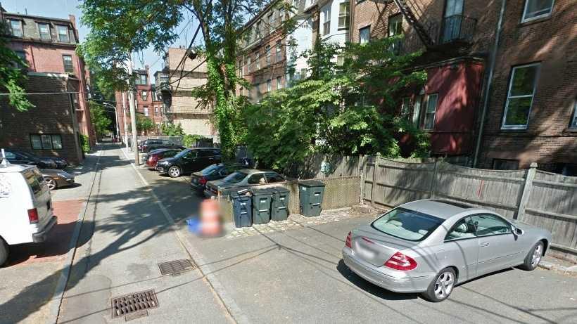 Back Bay Parking Spot 081413
