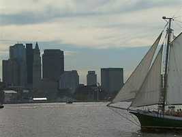 Boston has harbor cruises, sailing charters, water taxis, and pleasure craft.