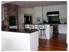 The kitchen has serving stations to make entertaining a breeze.