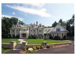 19 Pembroke Road is on the market in Wellesley for $4.29 million.