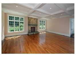 s one of a kind property offers 10' ceilings on main level.