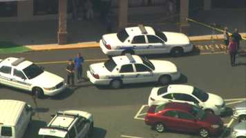 The incident happened at 11:30 a.m. a store inside the Webster Square plaza on Stafford Street.