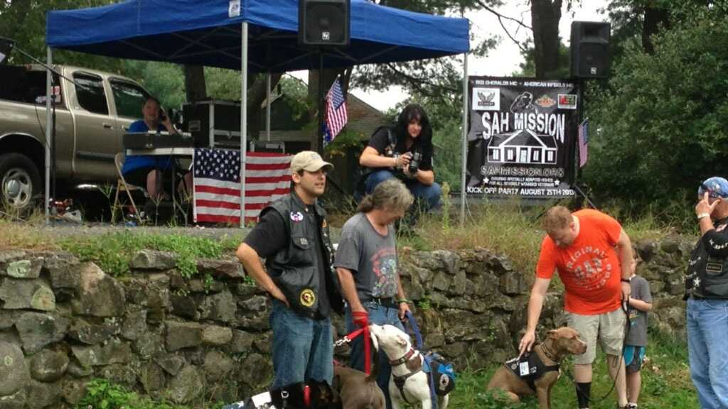 Oxford service dog rally