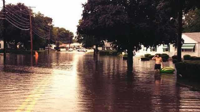 Cranston flooding