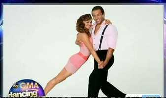 "Corbin Bleu of ""High School Musical"" dancing with Karina Smirnoff"