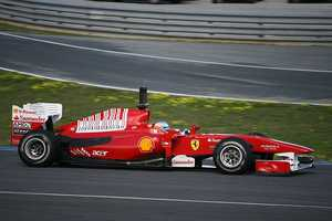 A modern F1 car can drive upside down in a tunnel at 120 mph