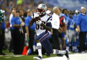 #3. Will Tom Brady have the confidence in rookie, undrafted wide receiver Kenbrell Thompkins, who has been the leading receiver in preseason to make Thompkins a legitimate threat.