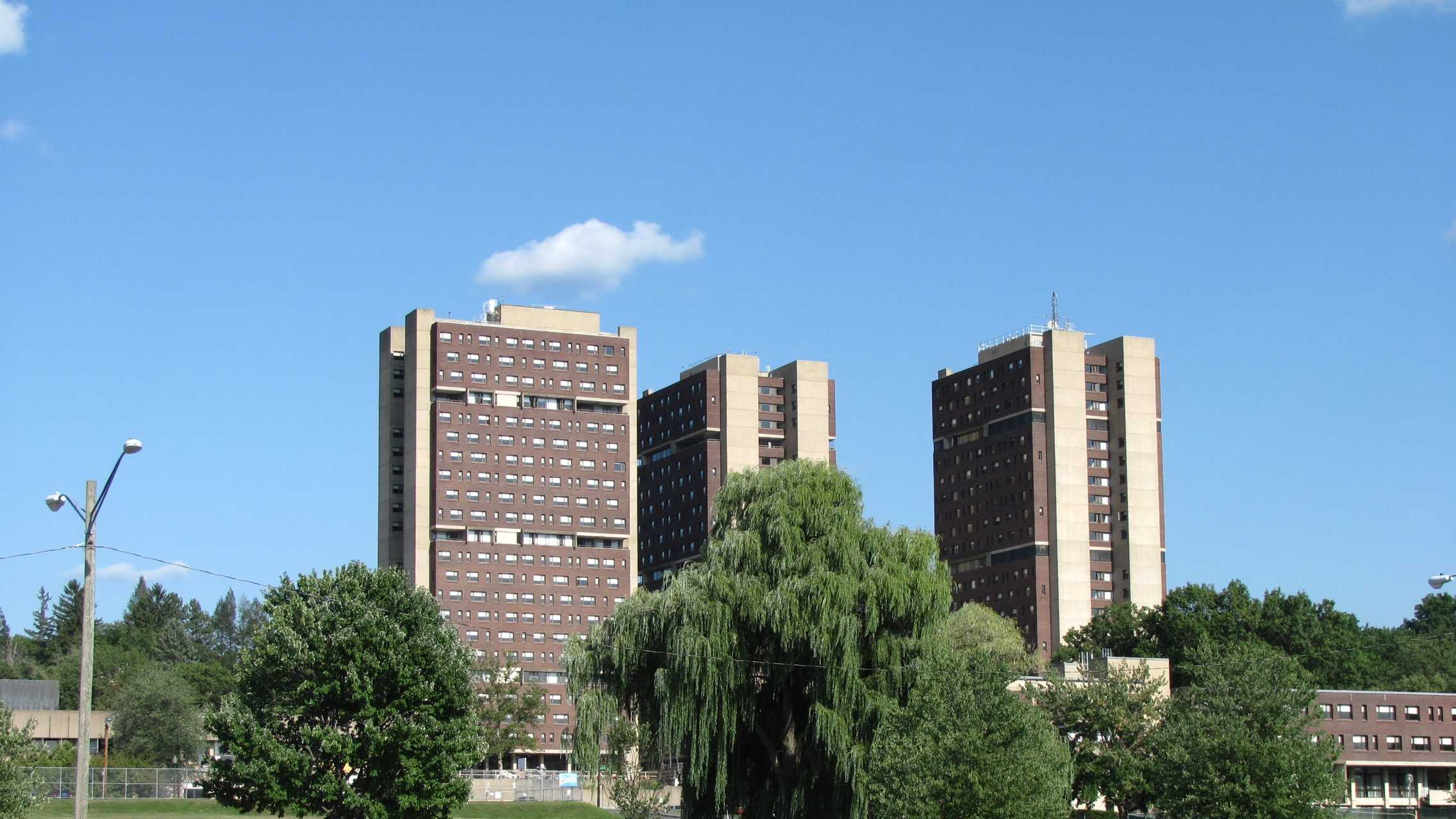 UMass Washington Tower 090813