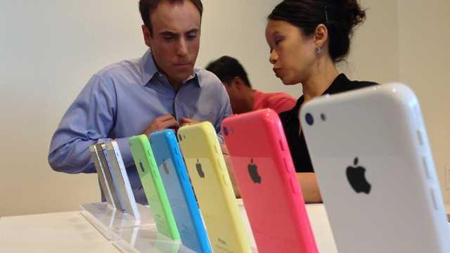 iPhone 5C in store