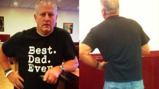 Dad in shorts Utah