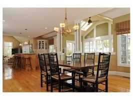 The house offers more than 7,500 square feet of living space.