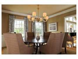 The home is close to the Cohasset Country Club.