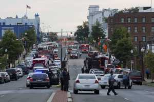 A gunman opened fire inside a building at the Washington Navy Yard on Monday morning.