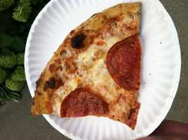 American Flatbread pizza from Vermont