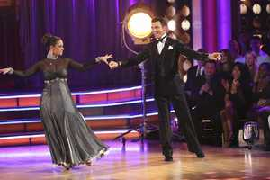 """LEAH & TONY - """"Dancing with the Stars"""" is back with an all-new cast and fresh show format for Season 17. (Photo by: ABC/Adam Taylor)"""