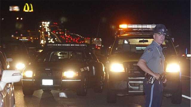 1 injured in Mass. Pike crash