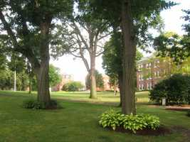31)Tufts University Worcester Campus. 22 offenses were reported in 2012, including one robbery.