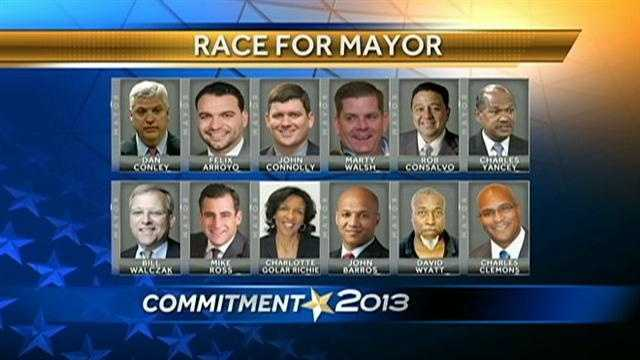 Race for Mayor Boston