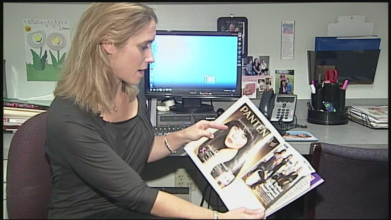Cancer survivor featured in fashion magazine