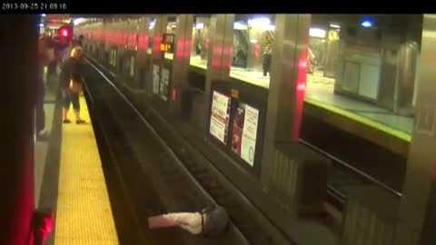 MBTA man on tracks 092613.jpg