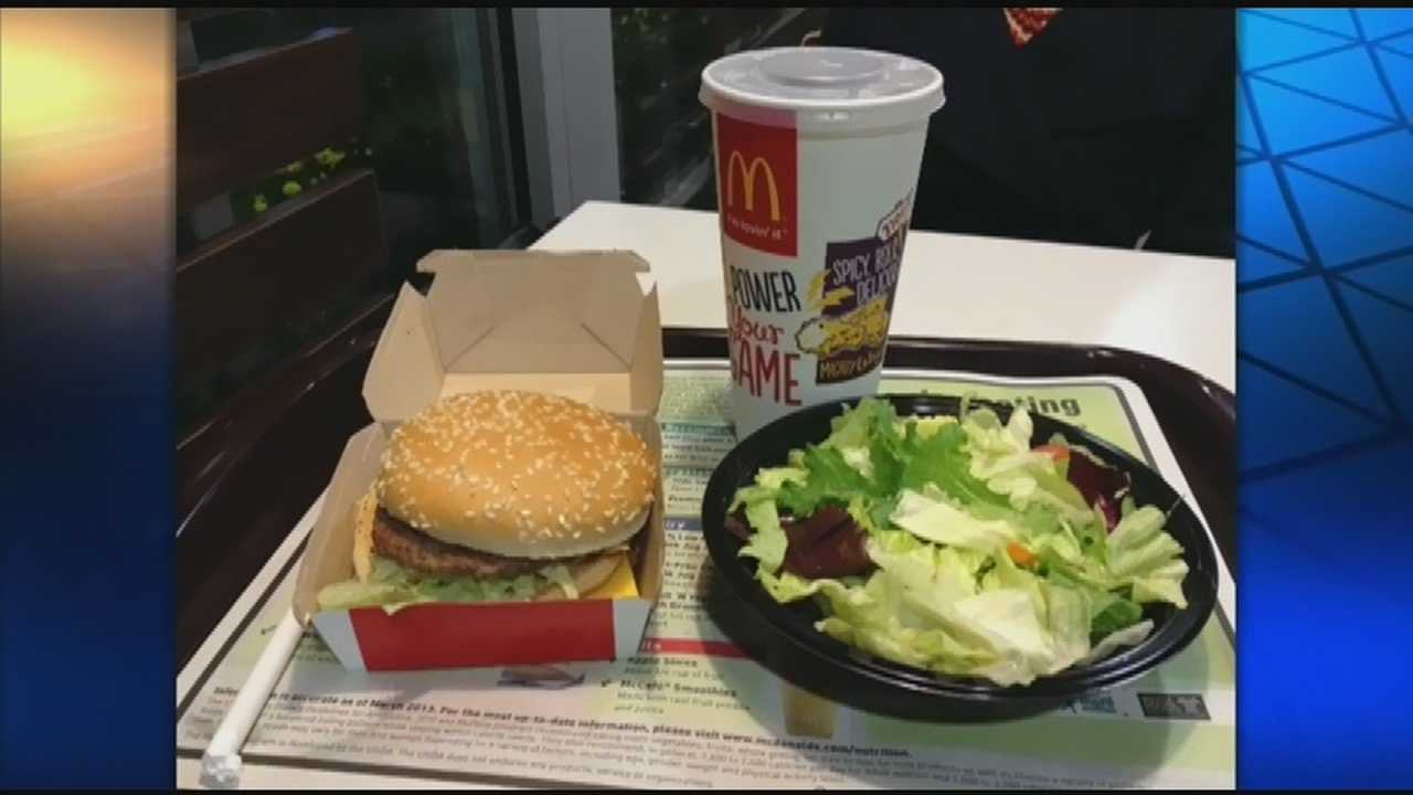 McDonald's menu makeover