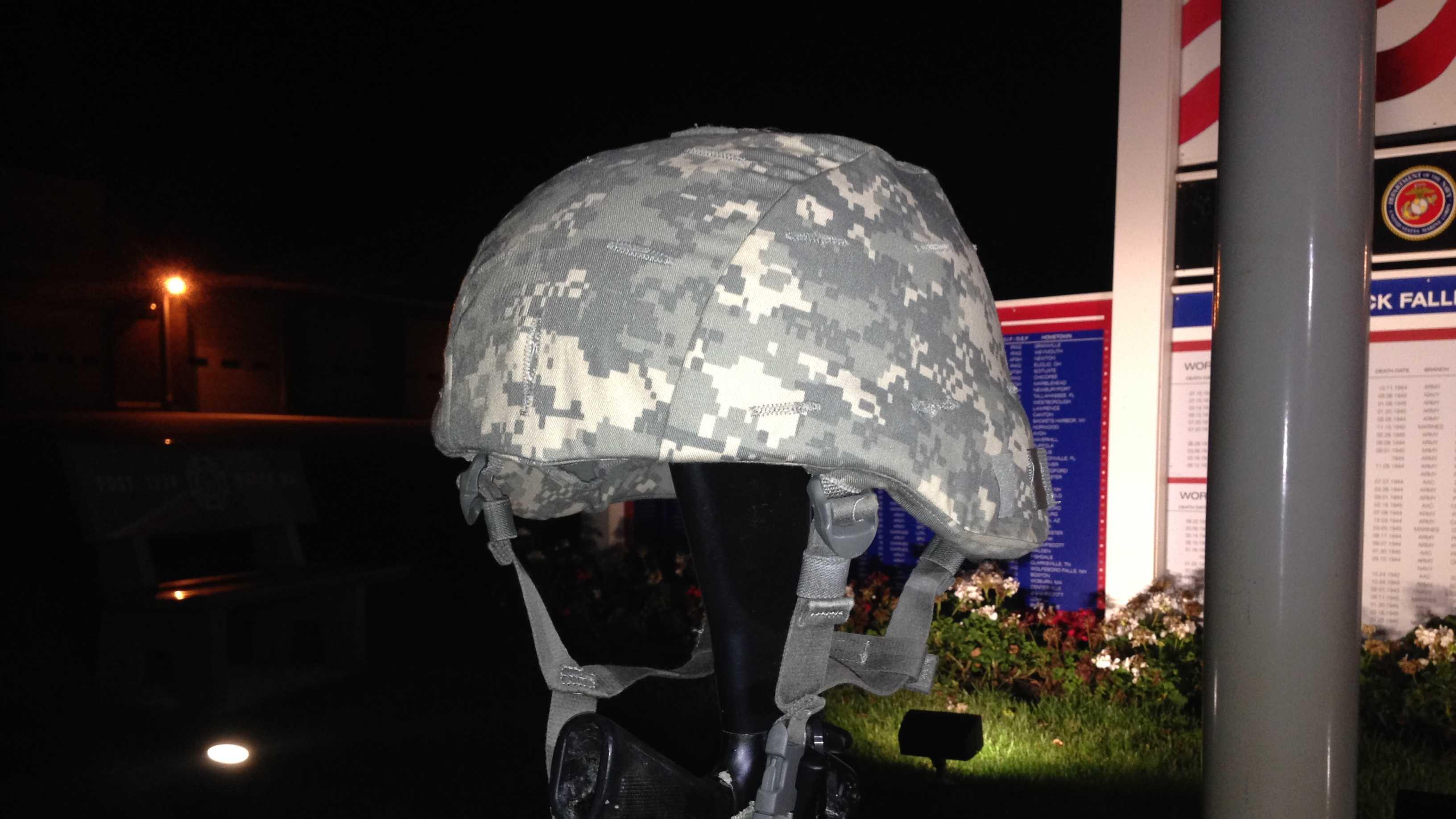 natick helmet replaced