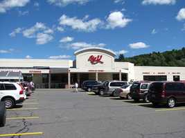"Big Y Supermarket got its name because the original store was at an intersection where two roads converged at a ""Y."""