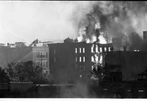 Soon, all of Summer Street was in flames and the fire was spreading to Maple and Third Street, according to an account on www.olgp.net/chs/photos/fire1973/writeup.htm.