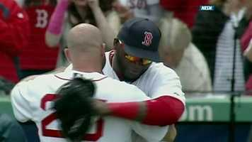 In January 2003, Ortiz signed with the Red Sox as a free agent.
