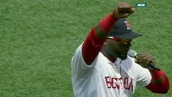 In the 2004 playoffs, Ortiz hit .409 with 5 home runs and 23 RBIs.