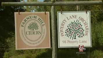 Farnum Hill Ciders has earned a following.