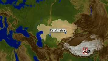 Zeke Goodband traveled to the far Republic of Kazakhstan, believed to be the birthplace of apples.