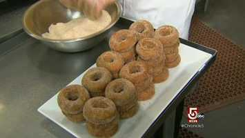 Maybe the secret to Volante's donuts is the fresh local cider.