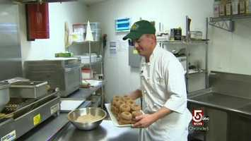 Chef Todd Heberlein is the head chef at Volante Farms in Needham, Massachusetts.